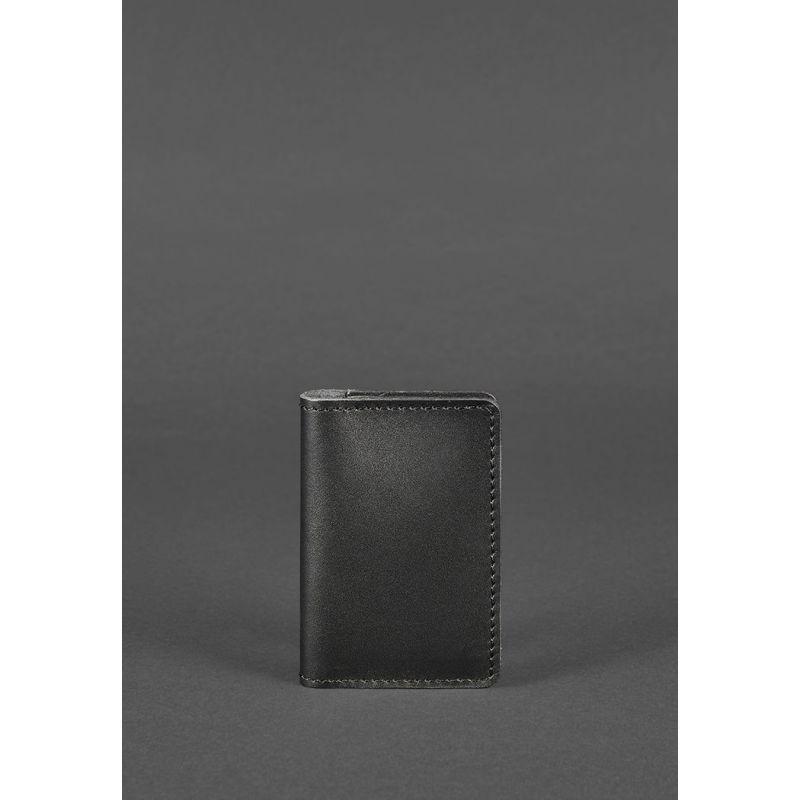 Кожаный кард-кейс 6.0 черный
