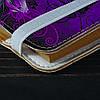 Обложка на блокнот v.2.0. A6 Fisher Gifts 30 Цветочный колорит (эко-кожа), фото 3