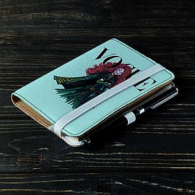 Обложка на блокнот 2.0 A6 Fisher Gifts 118 Мерида VOGUE (эко-кожа)