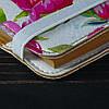 Обложка на блокнот v.2.0. A6 Fisher Gifts 181 Нарисованные розы (эко-кожа), фото 3