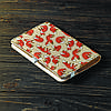 Обкладинка блокнот 2.0 A6 Fisher Gifts 187 Лисички фон (еко-шкіра), фото 4