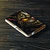 Обложка на блокнот v.2.0. A6 Fisher Gifts 443 Чеширский кот (эко-кожа), фото 4