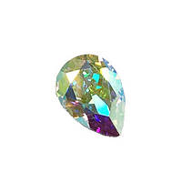 Капли Preciosa (Чехия) 10x7 мм Crystal AB