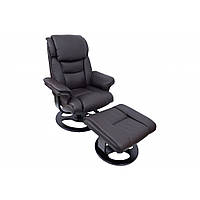 Кресло офисное руководителя с массажем Bonro 5099 Brown, фото 1