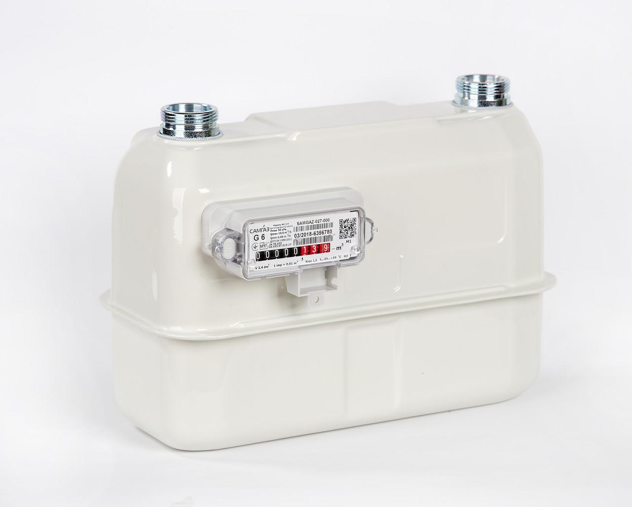 Газовый счетчик САМГАЗ G6 RS/2,4