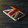 Обложка на блокнот v.2.0. A6 Fisher Gifts 747 Британский флаг old (эко-кожа), фото 4