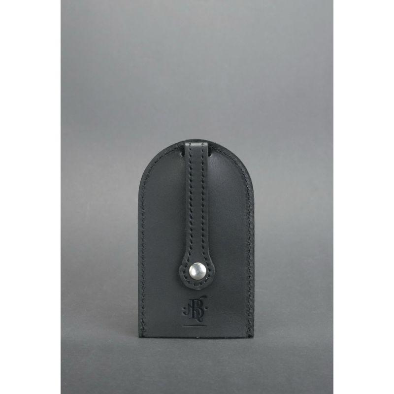 Кожаная ключница 2.0 черная