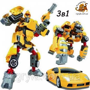 3ы1 Робот трансформер - Роадбот, RoadBot 55010, трансбот, машина робот, зообот, зоотрансформер