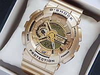 Мужские (Женские) кварцевые наручные часы Casio G-Shock, Elite Gold, фото 1