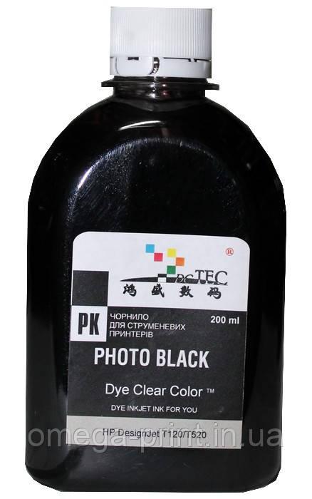 Чорнило HP T610 1100 Photo Black, 200 мл (DC Tec)