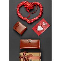 Подарочный набор кожаных аксессуаров Иль-де-франс, фото 1