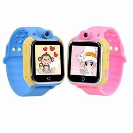 GPS SMART BABY WATCH Q200, цвет Синий, фото 2