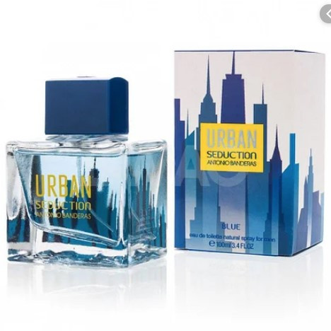 Чоловіча туалетна вода Antonio Banderas Urban Blue Seduction For Men, 100 мл