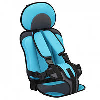 Автокресло детское Бескаркасное до 36 кг (Голубой) Дитяче Автокрісло Безкаркасне