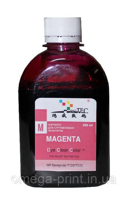 Чернило HP T610 1100 Magenta, 200 мл (DC Tec)