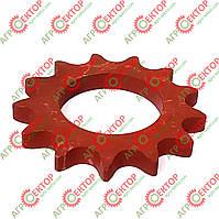 Зірочка натягу Z13 главной ланцюга нижня на прес-підбирач Famarol Z-511 8245-511-004-154, фото 1