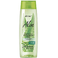 """Шампунь-Elixir для сухих, ломких и тусклых волос """"ИНТЕНСИВНЫЙ УХОД"""" Витэкс ALOE 97%"""