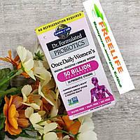 Garden of Life, Разработанные доктором пробиотики, витаминный комплекс Once Daily Women's, 30, официальный сайт