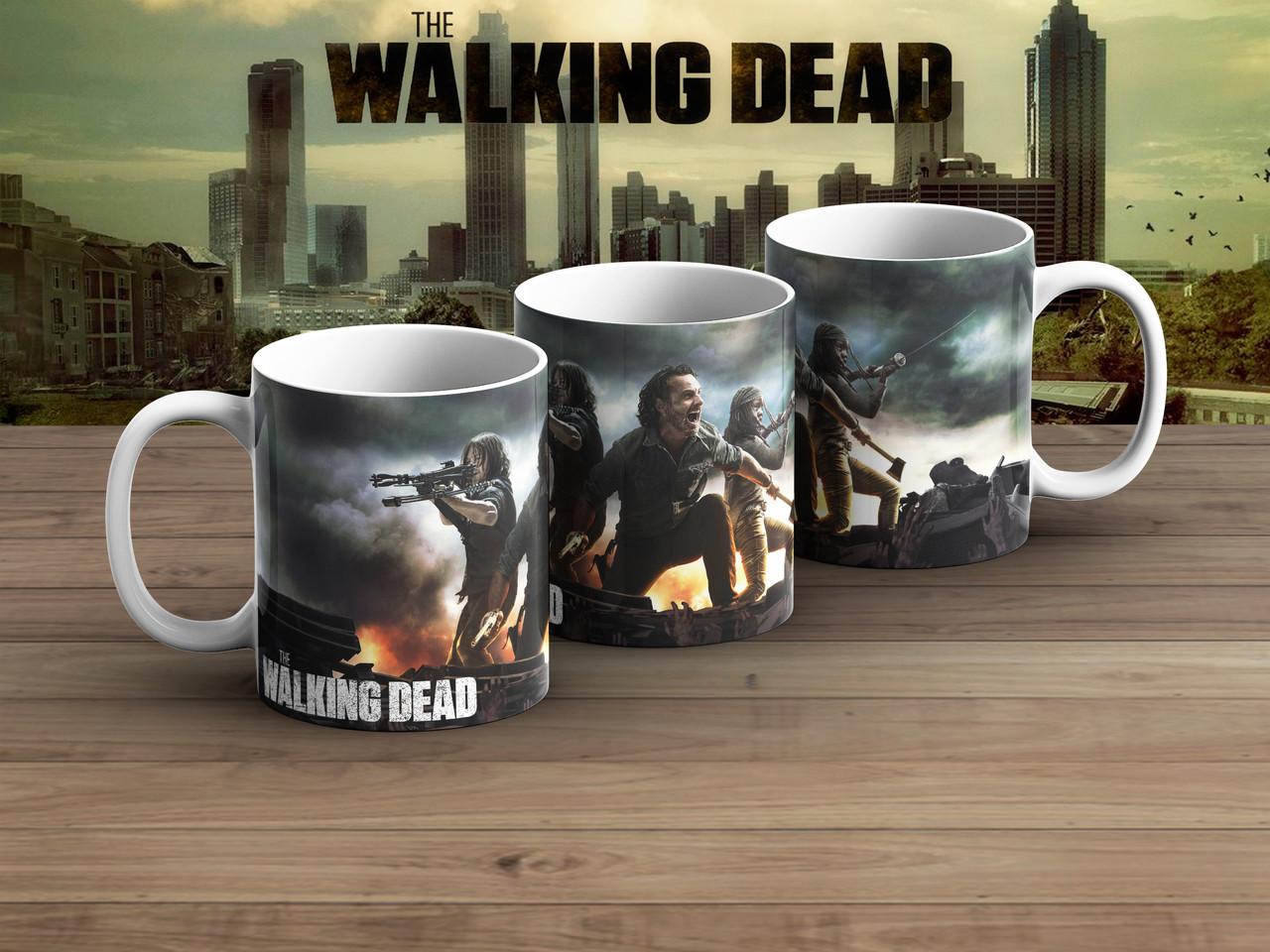 Чашка Ходячие мертвецы команда / The Walking Dead