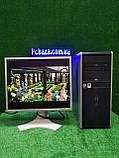 """ПК HP + мон 19"""" IPS NEC, Intel 4 ядра, 4 ГБ, 320 ГБ Настроен! Есть Опт! Гарантия!, фото 9"""