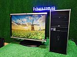 """ПК HP + мон 22"""" HP, Intel 4 ядра, 4 ГБ, 320 ГБ Настроен! Есть Опт! Гарантия!, фото 3"""