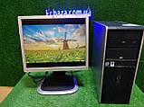 """ПК HP + мон 19"""", Intel 4 ядра, 4 ГБ, 320 ГБ Настроен! Есть Опт! Гарантия!, фото 8"""