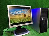 """ПК HP + мон 19"""", Intel 4 ядра, 4 ГБ, 320 ГБ Настроен! Есть Опт! Гарантия!, фото 9"""