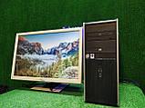 """ПК HP + мон 24"""", Intel 4 ядра, 4 ГБ, 320 ГБ Настроен! Есть Опт! Гарантия!, фото 9"""