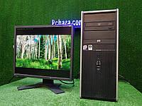 """Компьютер HP + монитор 19"""" VA Eizo, Intel 4 ядра, 4 ГБ, 320 ГБ Настроен! Есть Опт! Гарантия!, фото 1"""