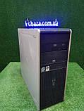 """Компьютер HP + монитор 19"""" VA Eizo, Intel 4 ядра, 4 ГБ, 320 ГБ Настроен! Есть Опт! Гарантия!, фото 3"""