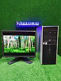 """Компьютер HP + монитор 19"""" VA Eizo, Intel 4 ядра, 4 ГБ, 320 ГБ Настроен! Есть Опт! Гарантия!, фото 9"""