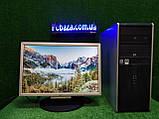 """Компьютер HP + монитор 19"""", Intel 4 ядра, 4 ГБ, 320 ГБ Настроен! Есть Опт! Гарантия!, фото 9"""