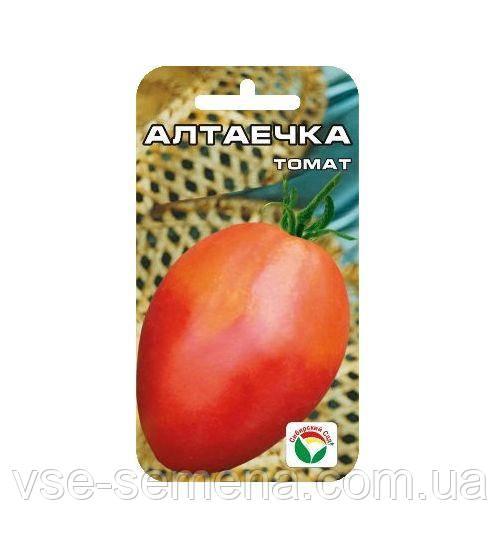 Томат Алтаечка 20 шт (Сибирский Сад)