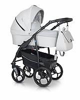 Детская коляска универсальная 3 в 1 Verdi Max Plus 04 light grey (Верди Макс Плюс, Польша)