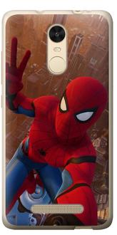 Чехол на Xiaomi Redmi Note 3 Человек Паук