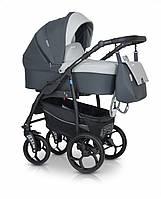 Детская коляска универсальная 3 в 1 Verdi Max Plus 03 grey (Верди Макс Плюс, Польша)