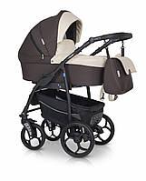 Детская коляска универсальная 3 в 1 Verdi Max Plus 05 brown (Верди Макс Плюс, Польша)