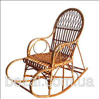 Кресло качалка плетенное из лозы Славутич, фото 1