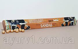 Аромапалочки Сандал / Sandal / Sreevani / Индия / 20 шт