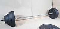 Штанга (1,8 м) + гантелі (35 см)  | 108 кг, фото 3