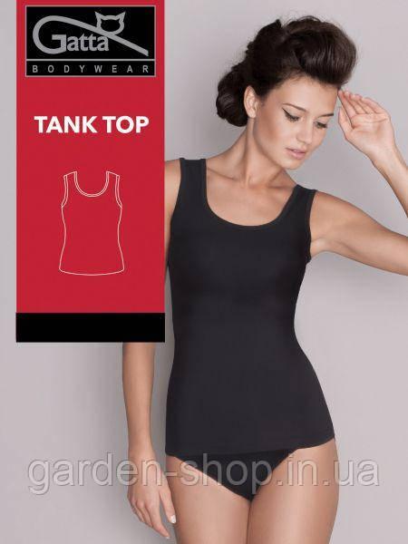 Майка безшовна Gatta Tank Top чорного кольору, розмір М
