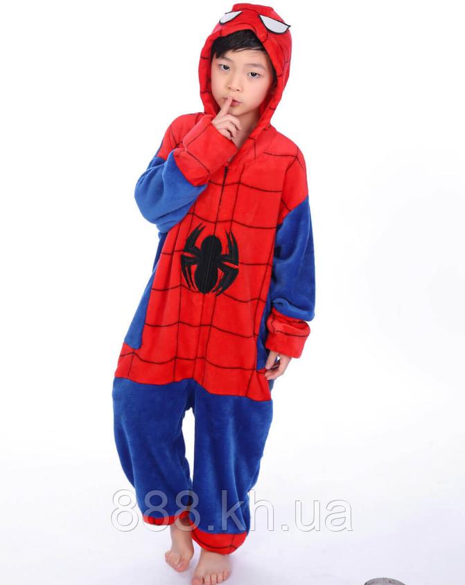 Пижама кигуруми Детские человек-паук