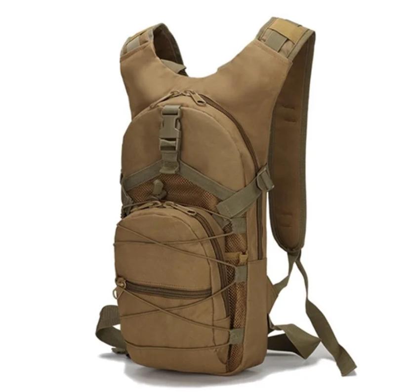 Рюкзак для велосипеда на 10 литров Tactic Песок