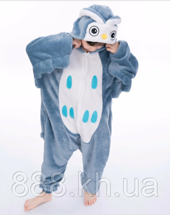 Пижама кигуруми Детские сова