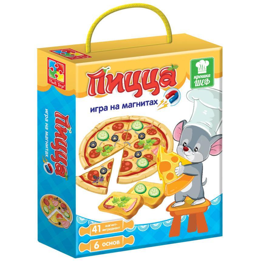 Гра магнітна «Піца»