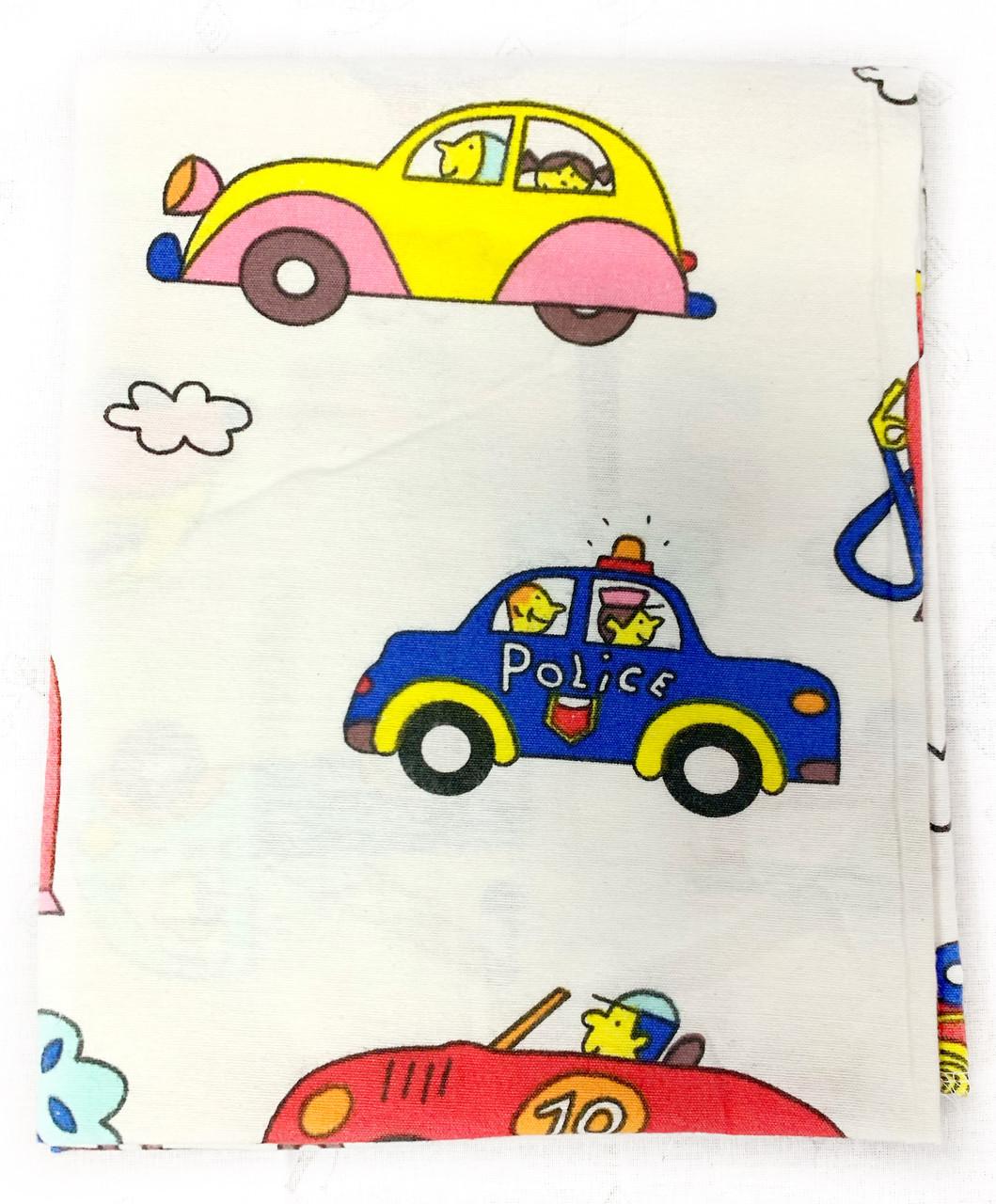 Фланелевая пеленка байковая Полиция #5