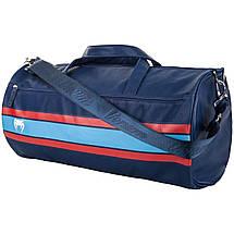 Спортивная сумка для тренировок Venum Martini Sports Bag Black Dark Blue Red, фото 3
