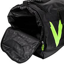 Сумка Venum Sparring Sport Bag Black Yellow, фото 3