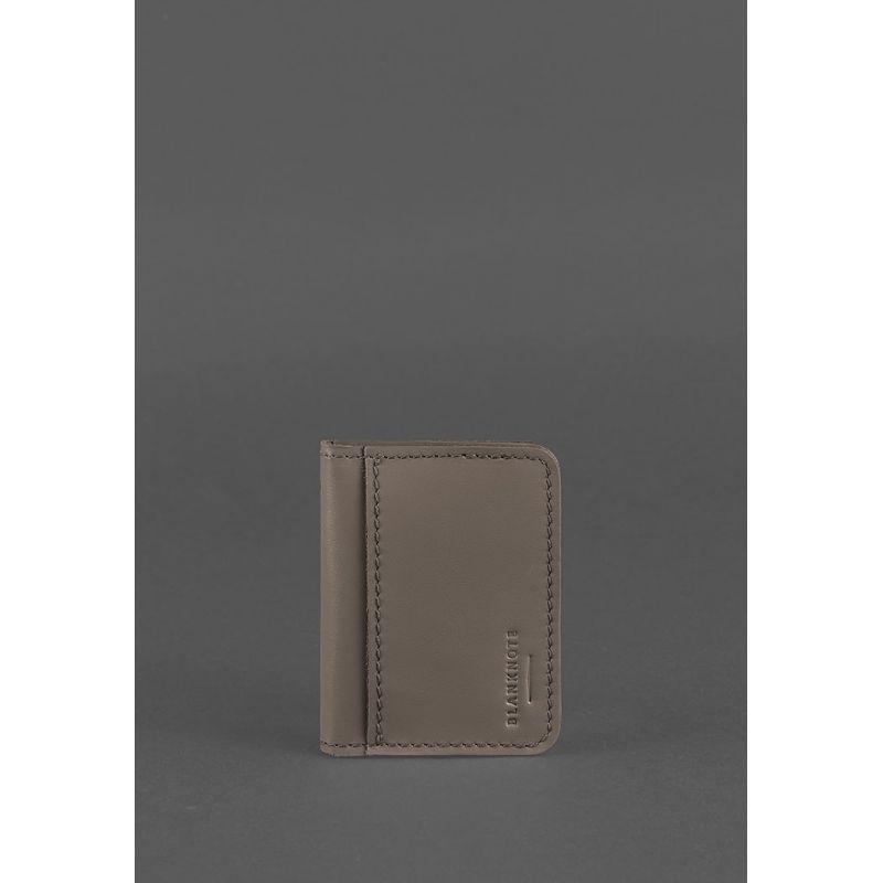 Кожаная обложка для ID-паспорта и водительских прав 4.0 темно-бежевая