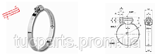 Хомут А 2 типу оцинк. Нового зразка 50-70 в пачці 50шт